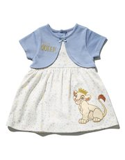 Disney Lion King mock cardigan dress (Newborn - 2 yrs)