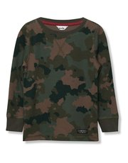 Camo sweatshirt (3-12yrs)