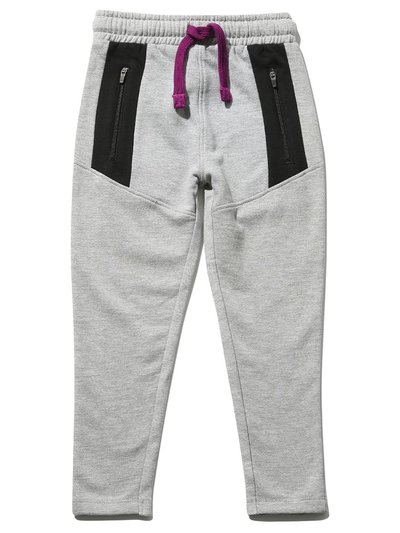 Zip panel joggers (3-12yrs)