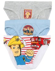 Fireman Sam briefs three pack (2-8yrs)