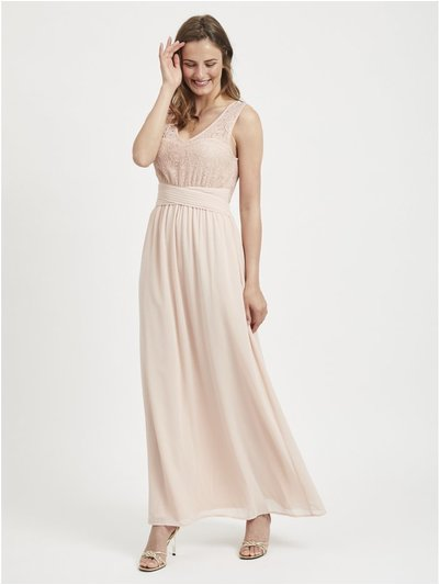 VILA lace maxi dress