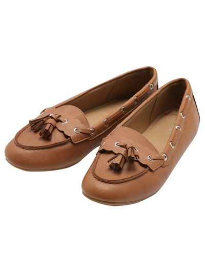 Fable moccasin driver loafer