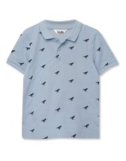 Dinosaur printed polo shirt (9mths-5yrs)