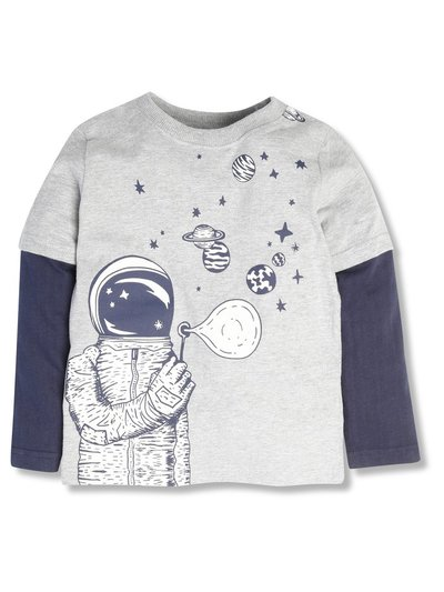 Space bubble tee (3-12yrs)