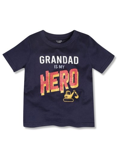 Grandad is my hero tee (9mths-5yrs)