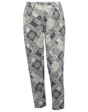 Plus tile jersey jogger trouser