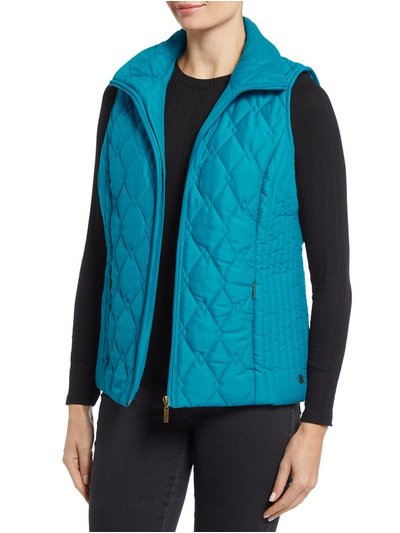 TIGI diamond printed gilet