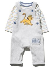 Disney Lion King dungarees set (Newborn-2yrs)