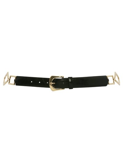 Metal trim belt