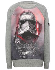 Star Wars print sweater