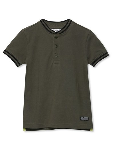 Baseball collar polo shirt (3-12yrs)