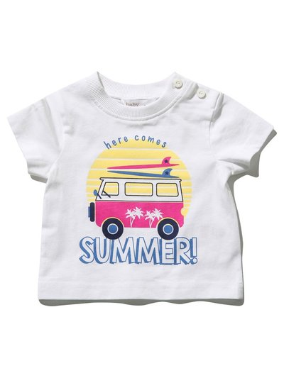 Slogan summer t-shirt (0mths-4yrs)