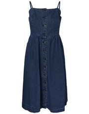 Vero Moda denim midi dress