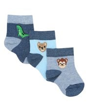 Animal socks three pack