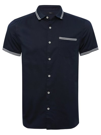 Tipped oxford shirt