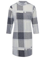 Checked soft touch tunic dress