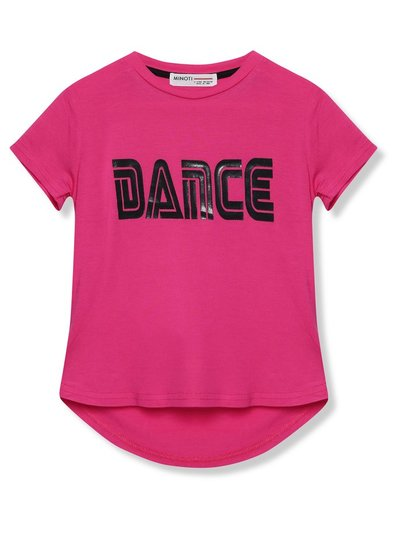 Minoti slogan sports t-shirt (3 - 12 yrs)