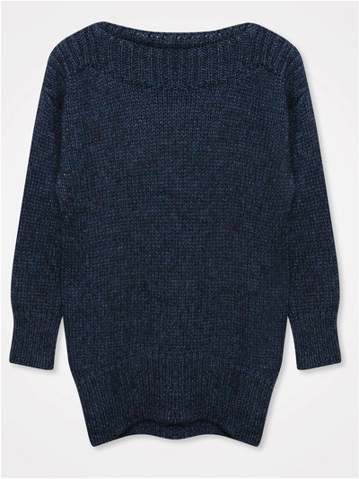 Khost Clothing shimmer slash neck jumper