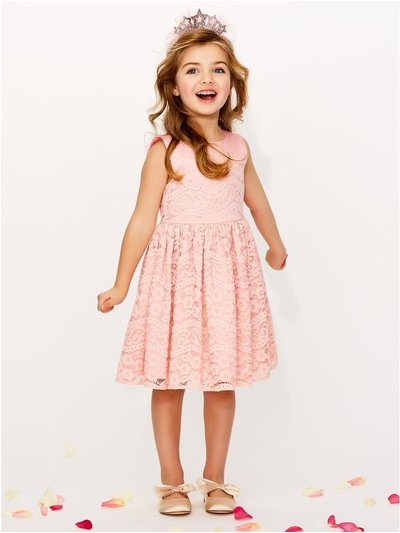 Lace prom dress (3 - 9 yrs)