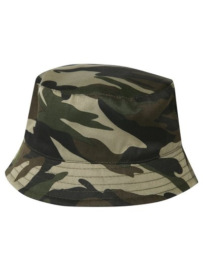 Camo bucket hat (1-10yrs)