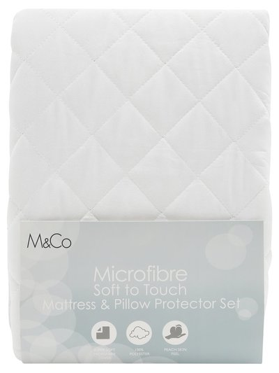 Mattress and pillow protector set