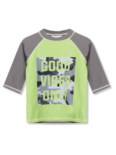 Good vibes only rash guard (3-12yrs)