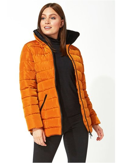 Roman Originals short zip through padded coat