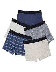 Stripe trunks five pack