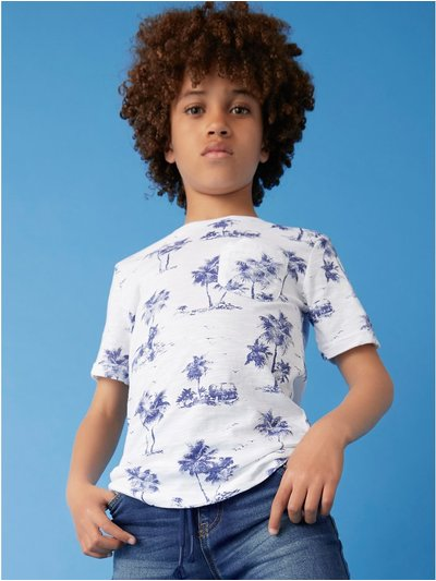 Palm print t-shirt (3-12yrs)