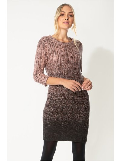 Roman Originals  ombre textured shift dress