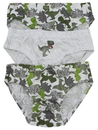 Dinosaur briefs three pack (2-10yrs)
