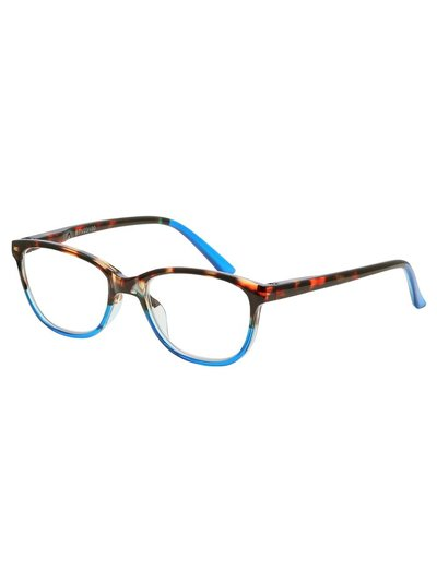 Tortoiseshell and blue reading glasses