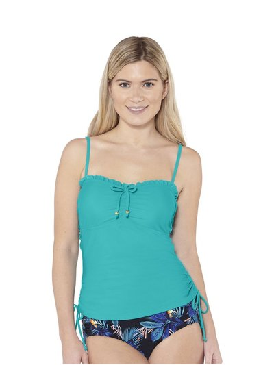 Beachcomber side tie tankini top