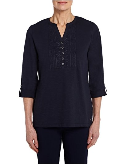 TIGI embroidery top