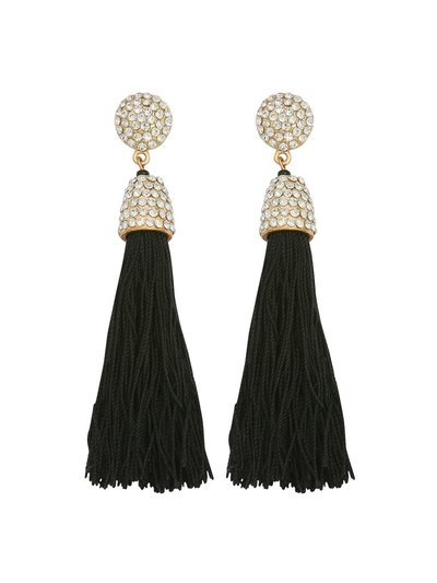 Muse diamante tassel earring
