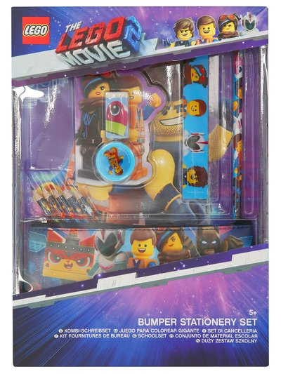 Lego Movie 2 stationery set