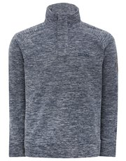 Regatta marl button neck fleece
