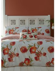 Pomegranate duvet set