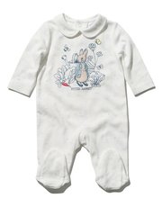 Peter Rabbit sleepsuit with feet