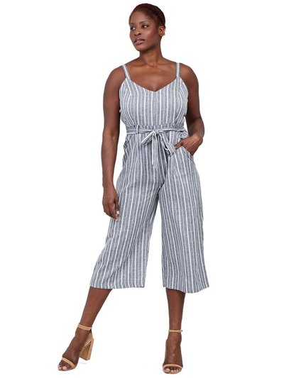 Izabel Curve striped wide leg jumpsuit