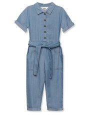 Denim jumpsuit (3-12yrs)