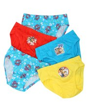 Paw patrol briefs five pack