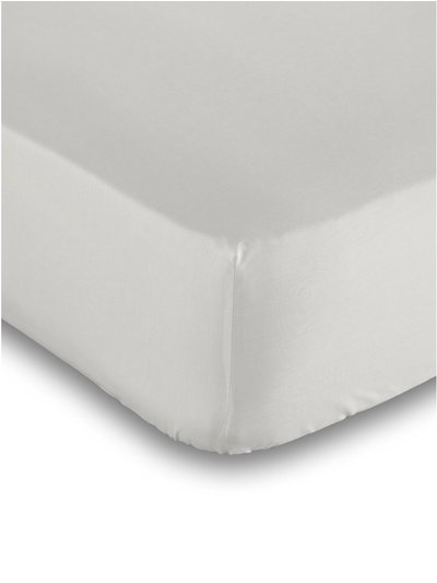 Cotton rich beige deep fitted sheet