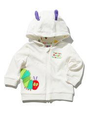 The Very Hungry Caterpillar hooded sweater