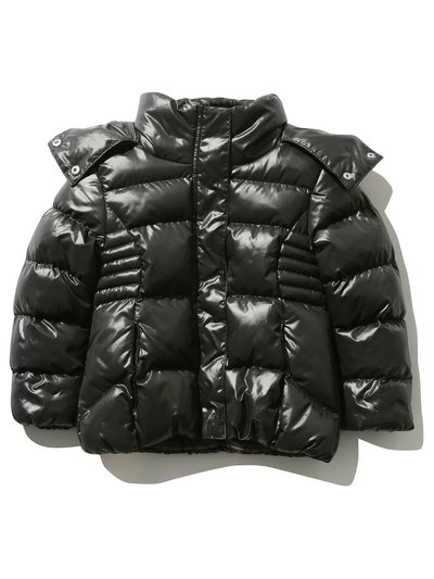 Hooded padded jacket (3 - 12 yrs)