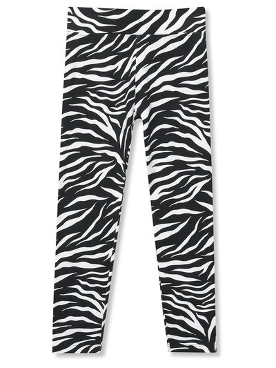 Zebra print leggings (3-12yrs)
