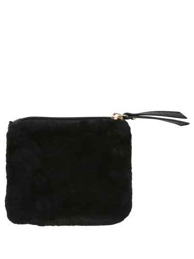 Teen faux fur purse