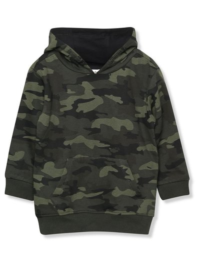Camouflage hoodie (3 - 12 yrs)