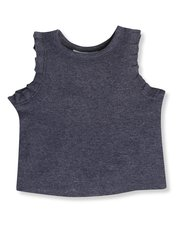Frill vest top (9mths-5yrs)