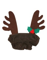 Reindeer hair scrunchie